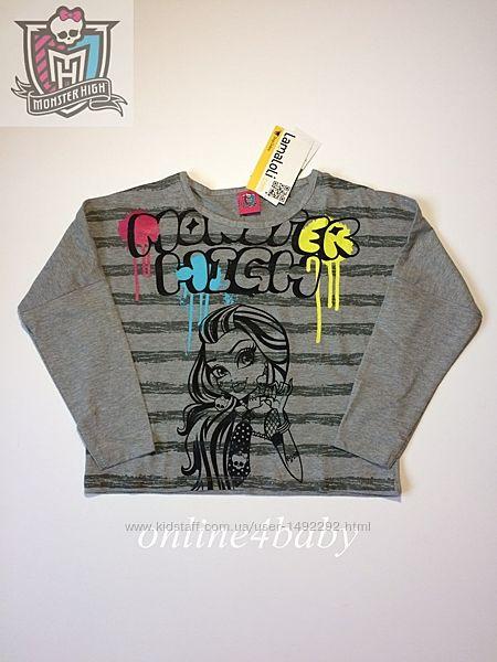 Реглан Monster High на девочку 7-8, 9-10, 11-12 лет