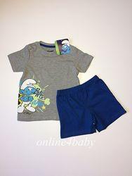 Пижама Smurfs на мальчика 2-4, 4-6 лет.