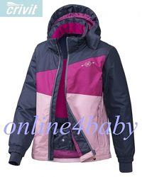 Зимняя куртка Crivit для девочки 6-8,8-10 лет