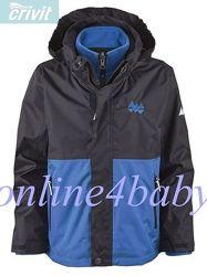 Демисезонная куртка-трансформер Crivit для мальчика 4-6, 8-10, 10-12 лет.