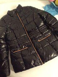 модная тёплая куртка Esprit p. 152-160 12-14лет дефект на молнии