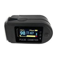 Пульсоксиметр цифровой, измерение 3 параметров, экран OLED/LCD