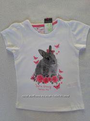 Модние футболки для девочки 2-11 лет Primark