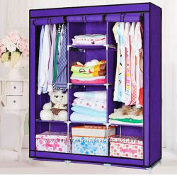 Шкаф  тканевый складной 88130 Purple