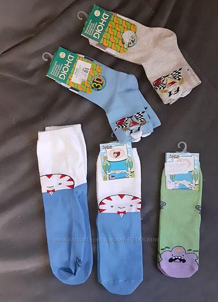 носки новые разные