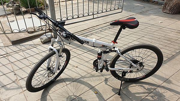 Подростковый велосипед складной 26 колеса на рост 140-170 хит продаж