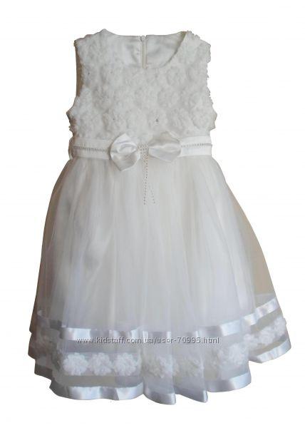 Размеры 6 до 9 лет Платье нарядное для девочки Miss Seker, Турция