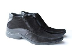 Размер 43 стелька 28, 5см Ботинки зимние на натуральном меху Vittorio