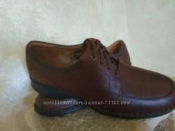 Мужские демисезонные туфли Clarks 47-48 размер