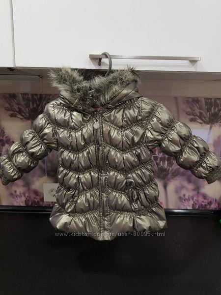 Куртка на осень-весну фирмы Рampolina 74 см состояние новой