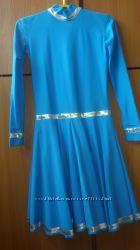 Платье-трико для танцев на рост 116-128, прокат