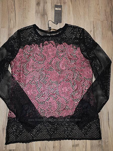 Babylon итальянская кружевная блузка