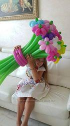 Красивые цветы из шариков дешево