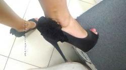 Красивые классические туфли на шпильке Braska