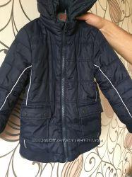 Демисезонная двухсторонняя удлинённая куртка  Mayoral, р. 4-5