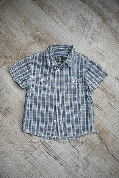 Рубашечки H&M, Matalan, Mothercare на мальчика