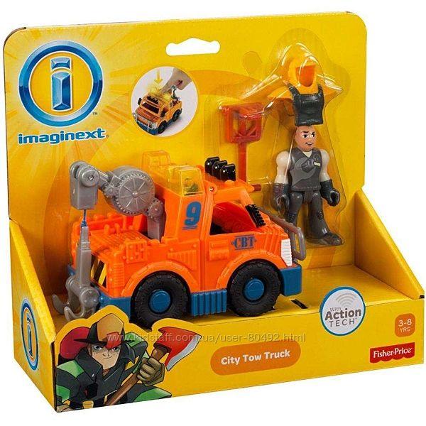 Игровой набор Fisher-Price Imaginext City Tow Truck