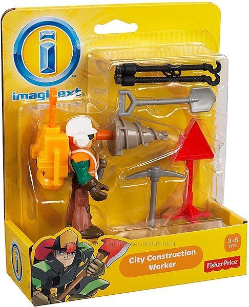 Игровой набор Fisher-Price Imaginext City Construction Worker