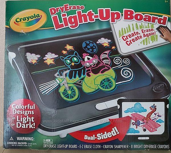 Доска для рисования Crayola DryErase  Light - UpBoard