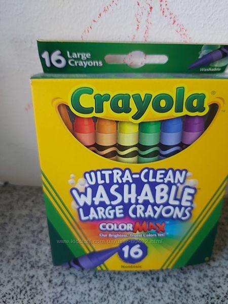 Наборы восковых мелков Crayola