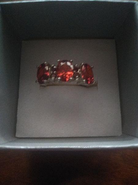 Кольцо новое серебряное