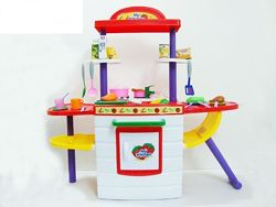 Детская кухня. 56 предметов. 87см высота. Самая низкая цена