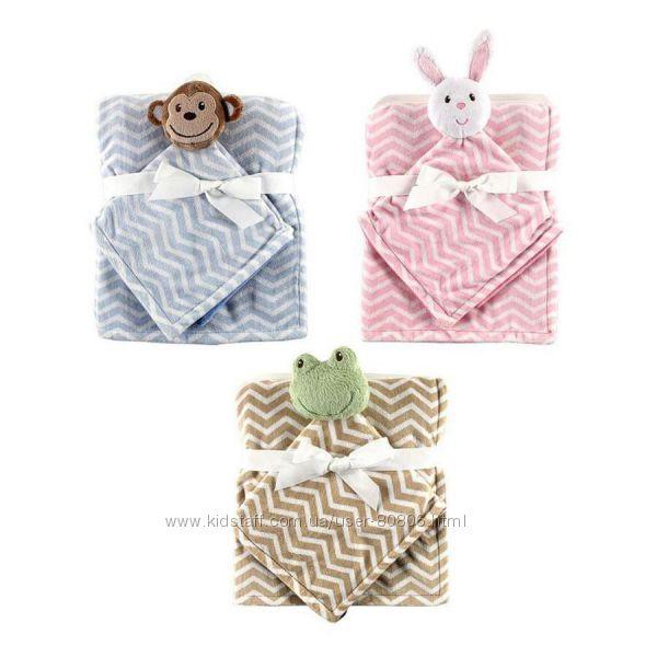 Детские одеяла  игрушка  Hudson Baby