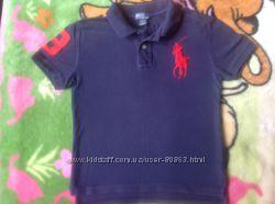 Поло Ralph Lauren оригинал фиолетовое для мальчика 9-10лет