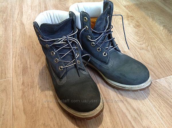 Ботинки Timberland кожа оригинал р. 40