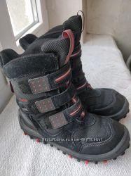 Зимние ботинки Clarks р. 1 UK стелька 21 см