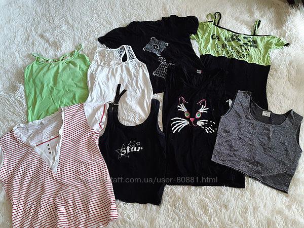 Пакетом, футболки для дома и двора, 8-10 лет