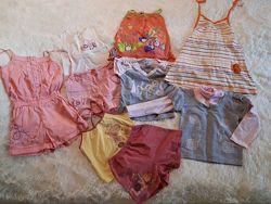 Пакет вещей для девочки, на рост 98