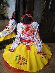 украинский вышитый костюм - на разный возраст