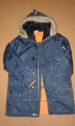 Куртка, парка деми Англия. Рост 140-146.