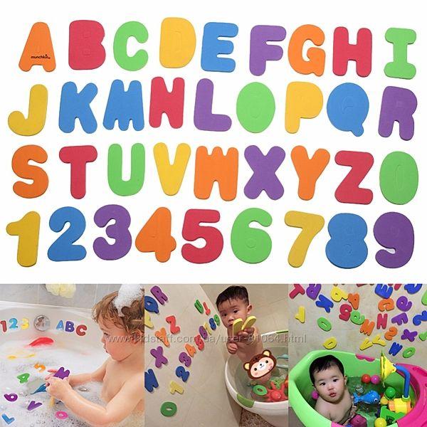 Іграшка для ванної Літери і Цифри, Munchkin