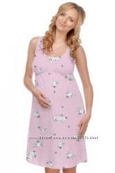в родоом хлопковая рубашка для беременных и кормящих