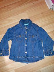 Джинсовая рубашка Rebel 12-18м