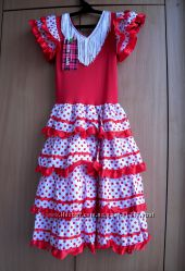 Платье Фламенко р. 140-150
