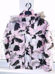 Куртка демисезонная на девочку H&M с капюшоном, р. 122 6-7лет.