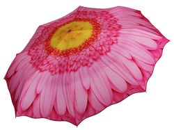 Зонты Цветы - эксклюзив от ТМ Три Слона Япония - Оригинал, Легкие арт. 115