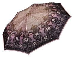 Сатиновый зонт, полный автомат ТРИ СЛОНА Оригинал, Моя Доставка арт. 100