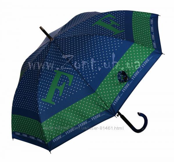 Стильный брендовые женские зонты трости FERRE Milano. Оригинал Италия.