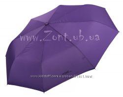 Однотонные складные женские зонты FERRE Milano. Оригинал. Бесплатная достав