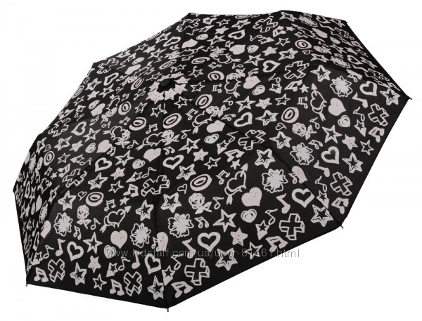 Зонты Baldinini c проявляющимся принтом. Гарантия