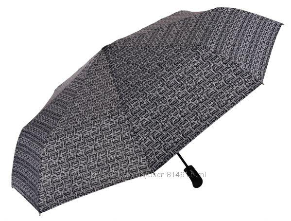 Мужской зонт Baldinini. Большой купол с принтом. Полный автомат. BALD39