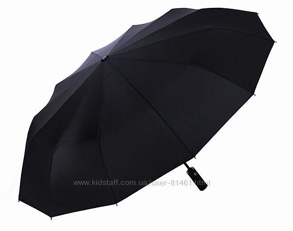 Крепкий зонт 12 спиц. Оригинал Три Слона полный автомат. Гарантия