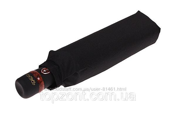 Мужской зонтик 10 спиц зонт Антиветер Три Слона. Оригинал с гарантией