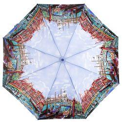 Компактный женский зонт с Большим куполом Zest 4 сложения. Гарантия. 24985