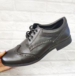 Ортопедические туфли броги. Стильная модель , натуральная кожа 35 размер