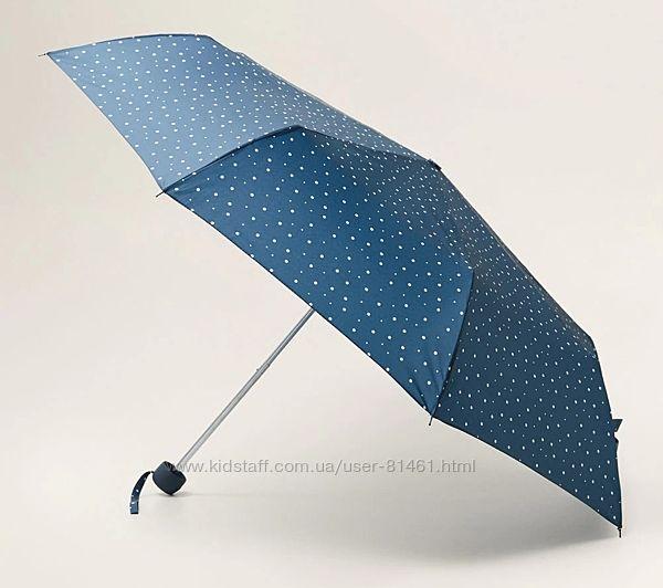 Стильный складной механический зонт Mango. Похож на звездное небо